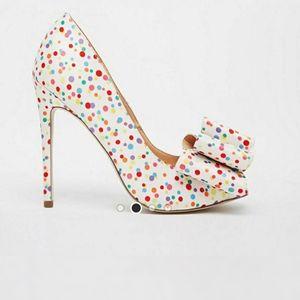 NWOT Asos Poppy Peep Toe High Heels